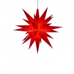 Herrnhuter Stern A1e, rot, LED