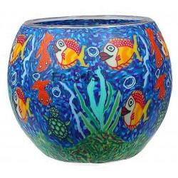 """Teelichtglas """"Aquarium"""""""
