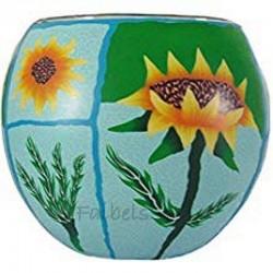 "Teelichtglas ""Sunflowers"""