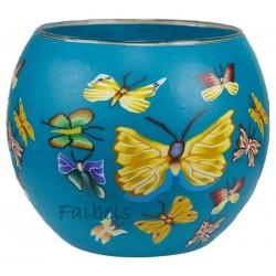 "Teelichtglas ""Schmetterling"""